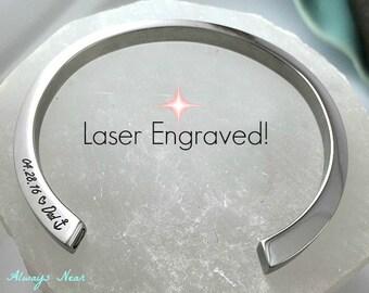 Cremation jewelry // cremation bracelet// cremation bangle // Stainless steel cremation bracelet // Memorial Urn // ashes bracelet keepsake