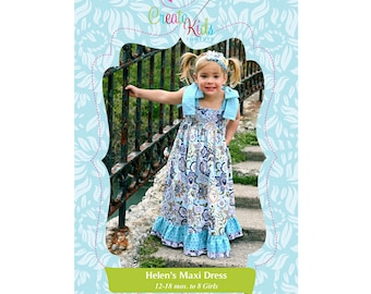 Helen's Maxi Dress Pattern by Create Kids Couture