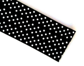 Pattern Magnet - Chart Keeper Magnetic Bookmark - Polka Dots (Black)