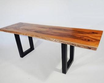 Live Edge Silk Oak Dining/Kitchen Table