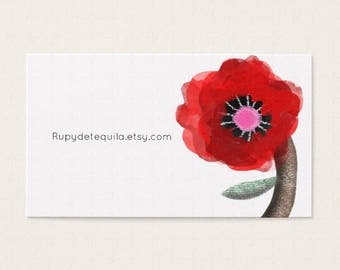 100 business cards - Your information - My Art