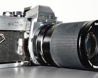 Minolta SRT-101 35mm SLR Film Camera with 28-85mm Macro lens - Great 35mm Film Camera - Great Student Camera