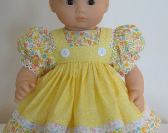 Dress for 15 inch Bitty Baby doll