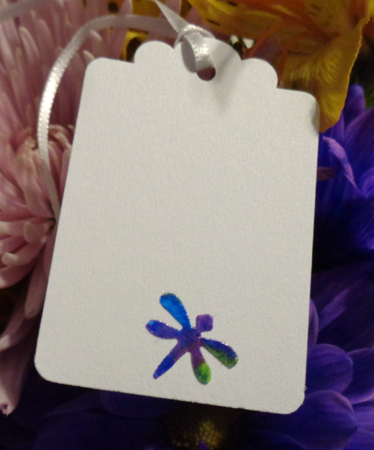 Dragnonfly Gift Tag, Dragonfly Gift Tie, Dragonfly Decorations ...