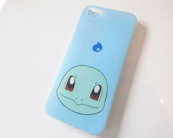 Squirtle Fashion Pokemon GO Foam Phone Back Case Cover For iPhone 5 5S SE 6 6+ 7 7+ X