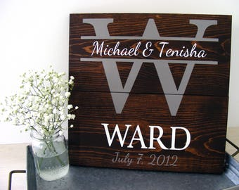 Personalized Wedding Gift - Wedding Gift Ideas - Newlywed Gift - Unique Wedding Gift - Wedding Shower Gift - Engagement Gift - Mr and Mrs