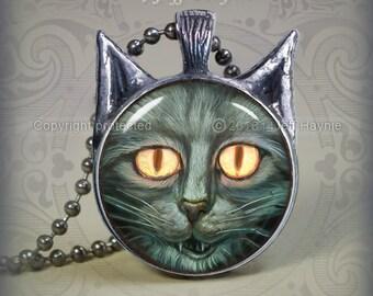 SC2 ZOMBIE CAT pendant