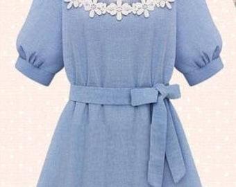 "Dress/tunic ""Jeanny"" - summer dress"