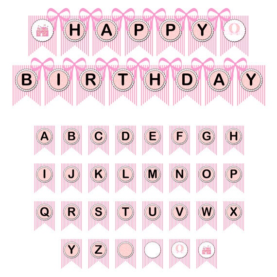 princess banner diy printable birthday banner and baby