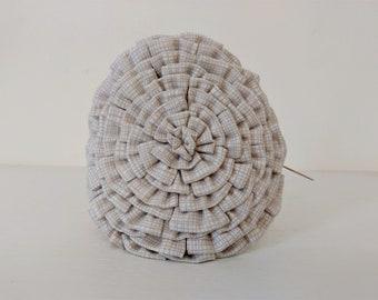 Headband Embellished with Oversized Fabric Flower
