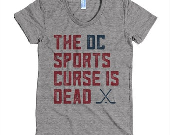 The DC Sports Curse Is Dead Ladies T-shirt Preorder