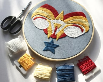 Digital embroidery pattern, Big swinging Ovaries -Wonder Womb OVARIES- , design by Jess de Wahls #BSODIY