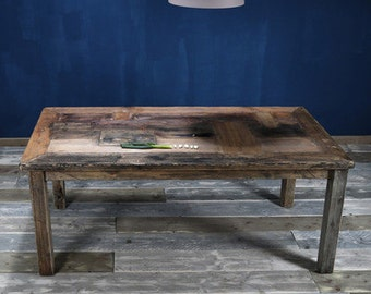 Table in country house style from lumber Dilan 180 x 90 cm