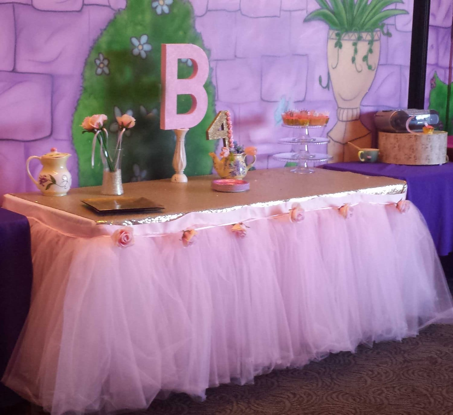 Sweets Table Custom Made Tutu Skirt Tulle