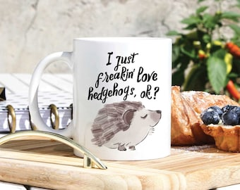 Delicieux Hedgehog Lover Coffee Mug   Cute Hegdehogs Mug   Hedgehog Owner Gift    Hedgehog Person Gifts