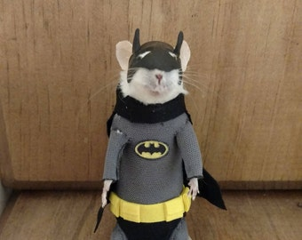 The Bat taxidermy mouse
