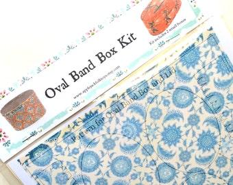 Oval Band Box Kit- Small
