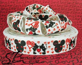 "7/8""  Valentines Grosgrain Ribbon"