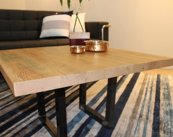 Reclaimed Granary Oak Cafe Table