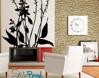 Vinyl Wall Decal Sticker Hosta Plant Bush Tree AC142s