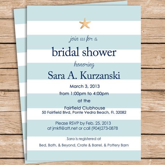 Beach bridal shower invitations acurnamedia beach bridal shower invitations filmwisefo