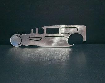 Rat Rod Metal Bottle Opener, Car, Classic Car Bottle Opener