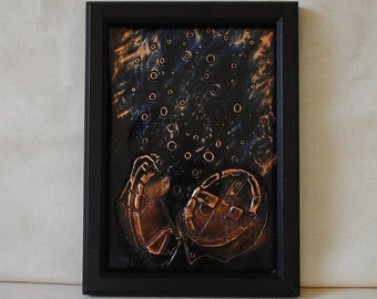 Deep Sea , Copper Etching Art