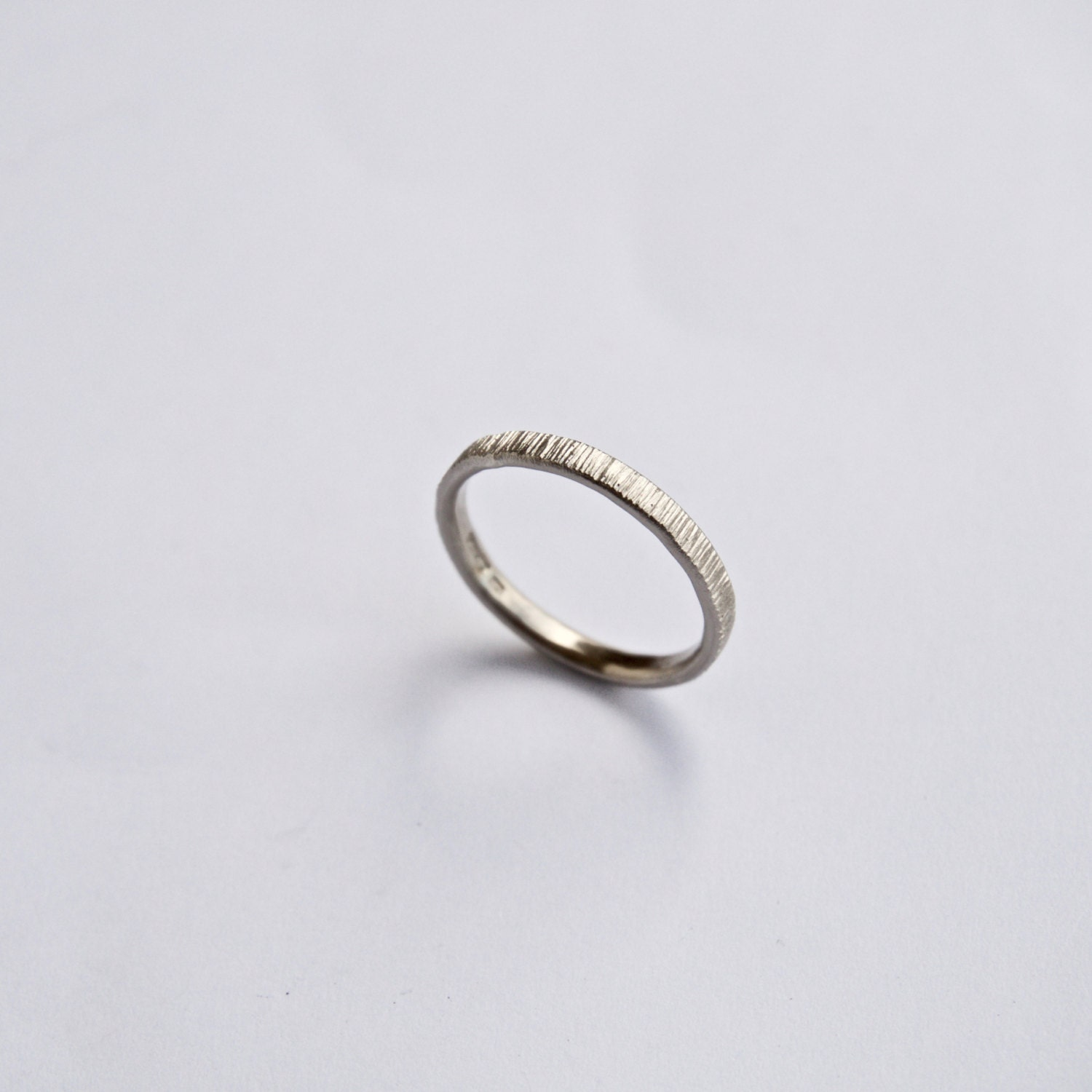 bands on solid wedding skinny dainty pin thin gold suzansmarket by shipping ring delicate free jewelry band stacking wire