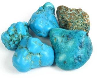 79.30 Ct. Natural Arizona Mine Kingman Turquoise Charming Gemstone Rough Lot