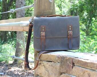 Leather Messenger Bag, Leather Satchel Bag, Leather Shoulder Bag, Leather Briefcase, Leather Bag Men, The Sullivan