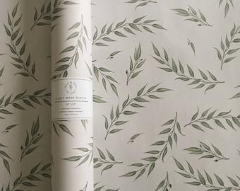 Seeded Eucalyptus - Gift Wrap Sheets