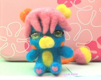 Kawaii Blue Plushie Popple P.C.