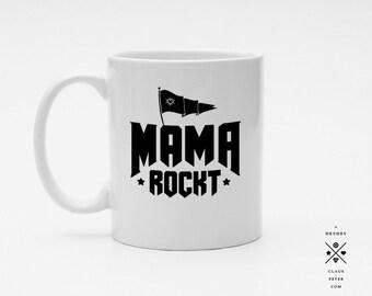 Ξ cupcup | tasse | mama rockt | muttertag | familie | geschenk | mama und papa