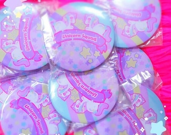 Unicorn Squad Button