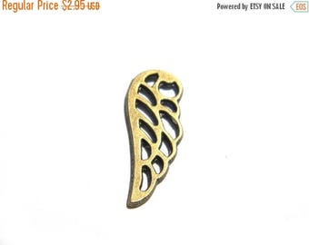 HALF PRICE 6 Bronze Wing Charms