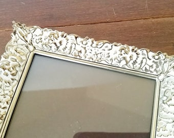 5x7 Picture Frame, Gold Frame 5x7, Picture Frame, Vintage Picture Frames, Shabby Chic Picture Frames