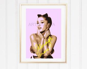 Ariana Printable Art with signature Always