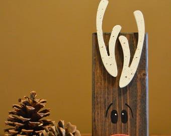 Reindeer Decoration / Holiday Decor / Santas Reindeer / Rudolph / Christmas Decor / Teachers Gift / Christmas / Christmas Table Decoration