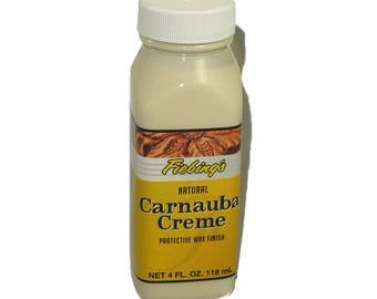 Fiebings Carnauba Cream 4 oz Bottle