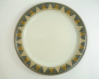 DENBY Pottery - BOSTON SPA - Dinner Plate / Plates - 10 1/2  & Denby dinner plate   Etsy