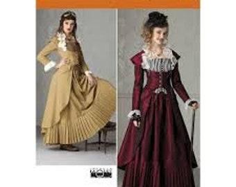 Simplicity 2172Size 14-22 Costume pattern Renn Fair, SCA, Larp, Steampunk, Victorian, Old West