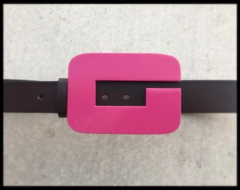 Gwenpool Belt - Brown Vegan Leather