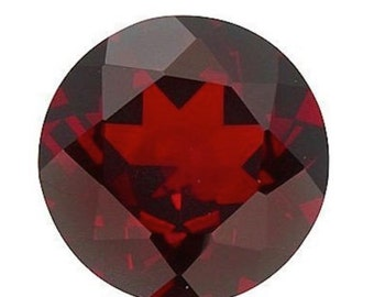 Genuine Natural Mozambique Garnet AAA Rated Round Loose Gemstones (1mm - 10mm)