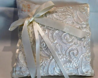 Bridal Ring Bearer Pillow