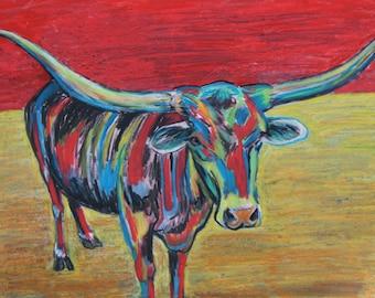 Mesquite Joe the Texas Longhorn XL
