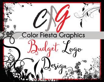 Custom logo design - BUDGET package - one round of free edits