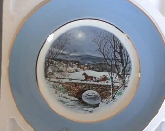 Avon 1979 Christmas Plate