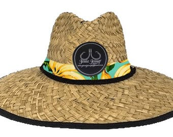 Bananas Straw Hat