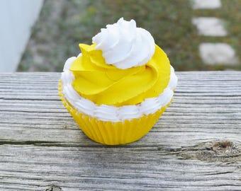 Yellow Cupcake (fake)
