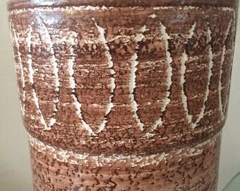 Pair of Ceramic Lamps in Bitossi Style